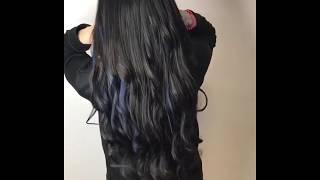 видео Мелирование на темные волосы – отличная альтернатива окрашиванию