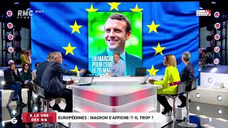 Européennes : Macron s'affiche-t-il trop ? - Les Grandes Gueules de RMC