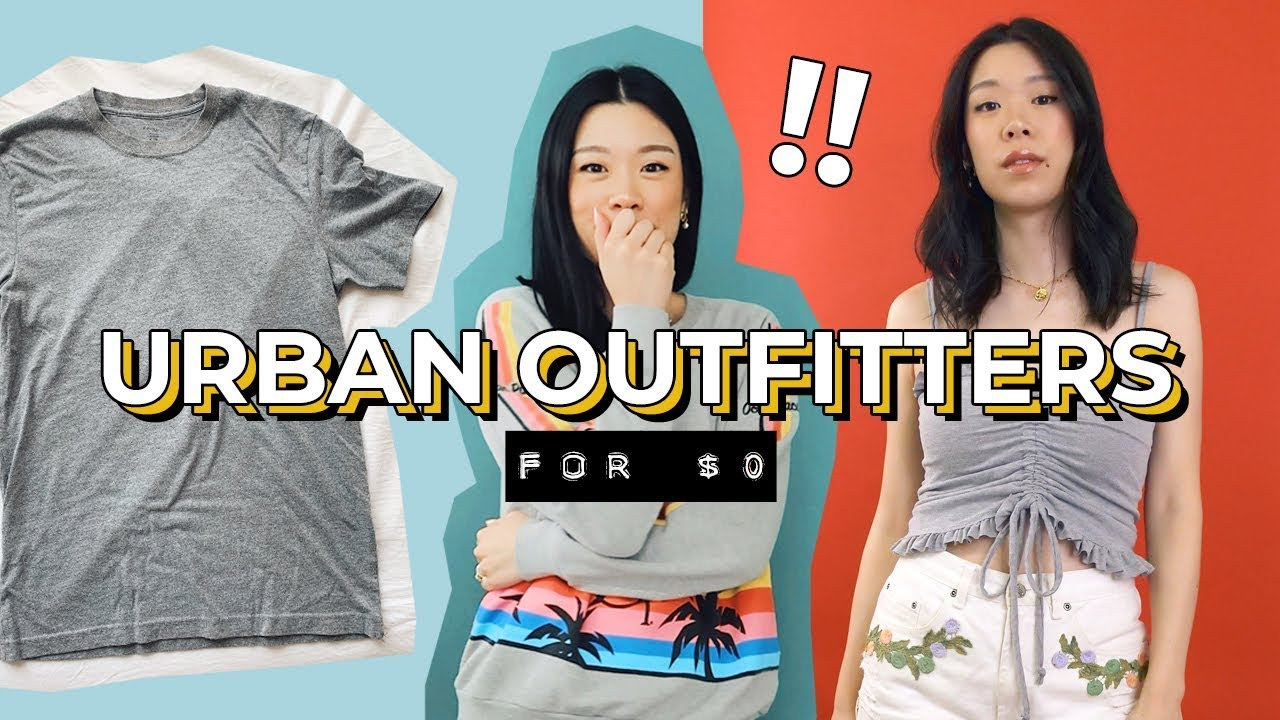 [VIDEO] – THRIFT FLIP: SUMMER TOPS (Urban Outfitters for $0) | WITHWENDY
