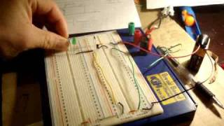 Electronics 5 : How To Make A Not Gate (wire A Transistor)