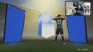 CAMINANTES AZULES DE LA CHAMPIONS Y CAMINANTE TOP !!! SOBRES 125K FIFA 18