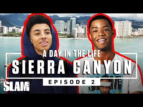 Cassius Stanley & Sierra Canyon got WAVEY in Hawaii ���♂� | SLAM Day in the Life