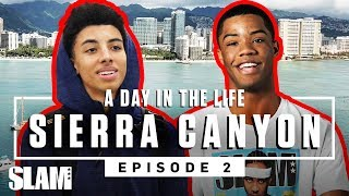 Cassius Stanley & Sierra Canyon got WAVEY in Hawaii 🏄🏾‍♂️ | SLAM Day in the Life