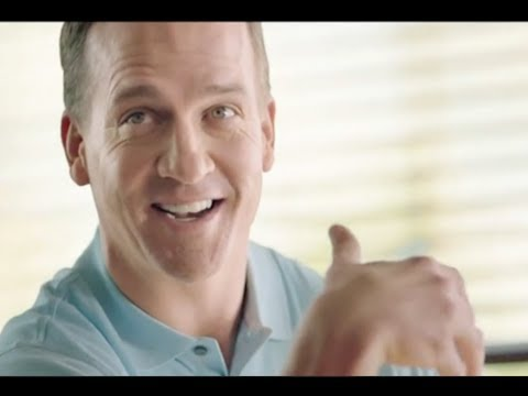 Peyton Manning Commercials Compilation NFL Ads