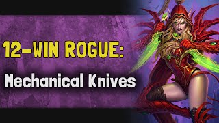 Hearthstone Arena | 12-Win Rogue: Mechanical Knives (Rise of Shadows #11)