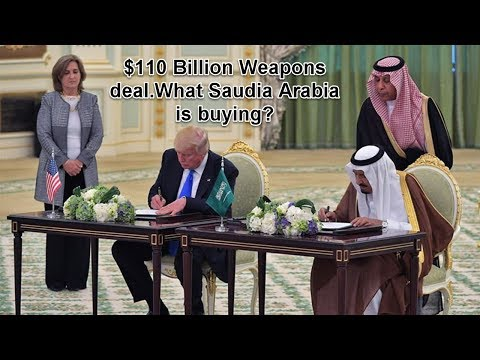 Here is What Advanced Weapons Saudi Arabia Is Buying In Its $110 Billion Arms Deal with US