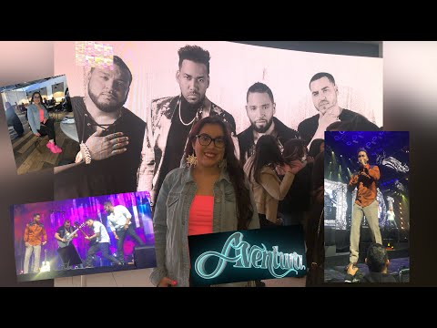 AVENTURA Inmortal Concert Vlog At United Center (Chicago)   Front Row Seats! 2-28-20