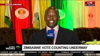Update of Zimbabwe vote counting - Peter Ndoro