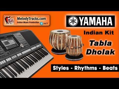Man Saat Samandar Dol Gaya   Tabla Dholak Yamaha Indian Kit Style Beat Rhythm