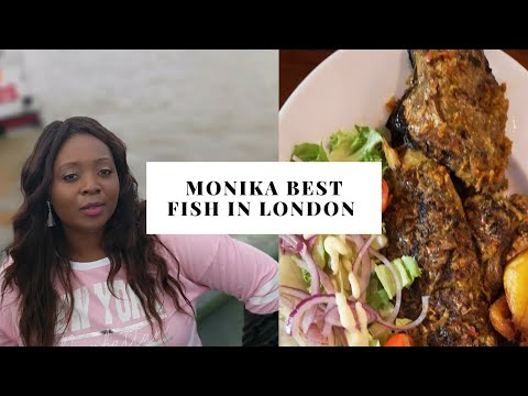 I ATE THE BEST FISH IN LONDON || 805 RESTAURANTS