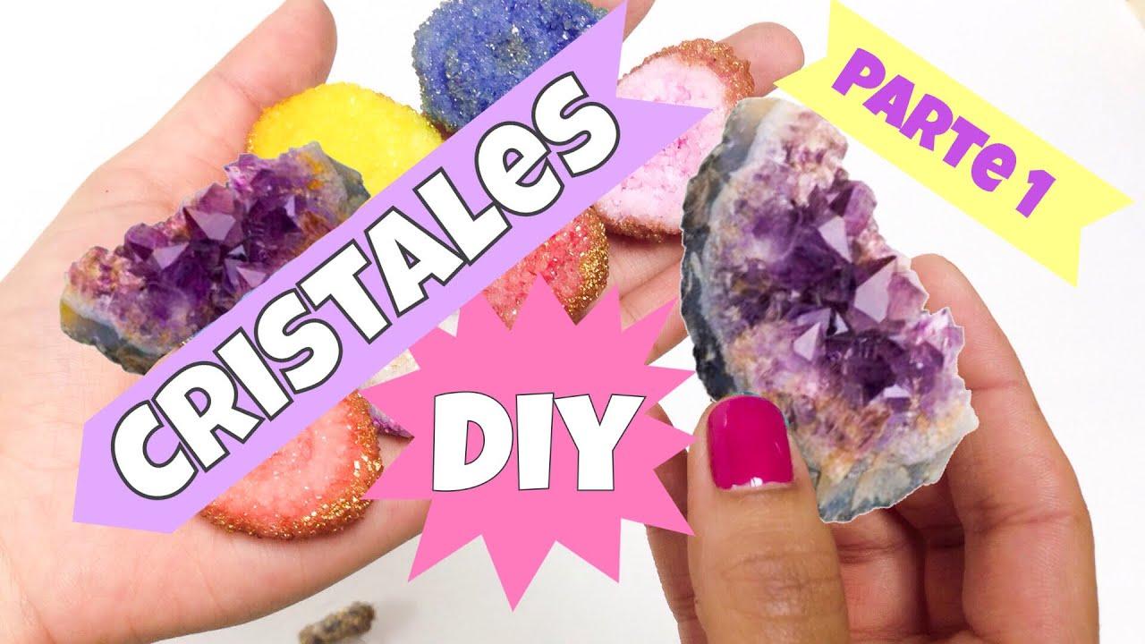 Como hacer cristales caseros manualidades f ciles youtube - Manualidades para hacer en casa faciles ...