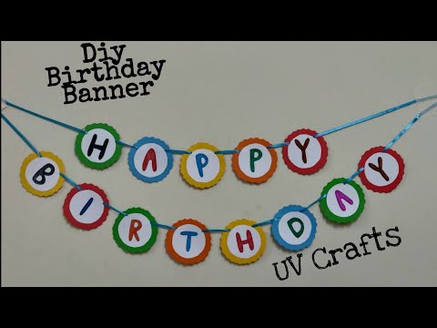easy-happy-birthday-banner-|-diy-birthday-decor-|-party-decor-ideas