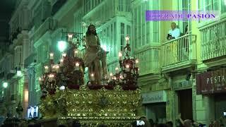 Jesús Atado a la Columna por San Antonio y C/ Ancha (Via Crucis Diocesano Cádiz 2018)