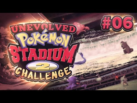 Unevolved Pokemon Stadium 2 Challenge part 6