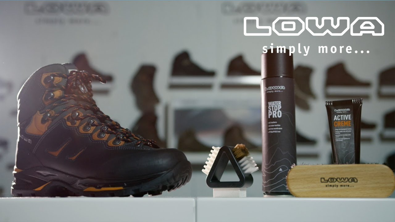 Care tips, Wellness for shoes | LOWA INT