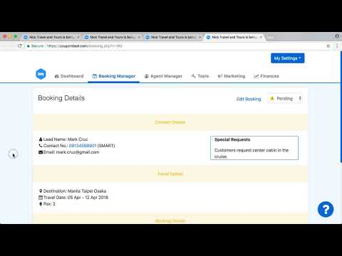 Explaining deeper the booking details Couponbed (11 april 2018)
