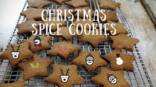 The Best Christmas Spice Cookies