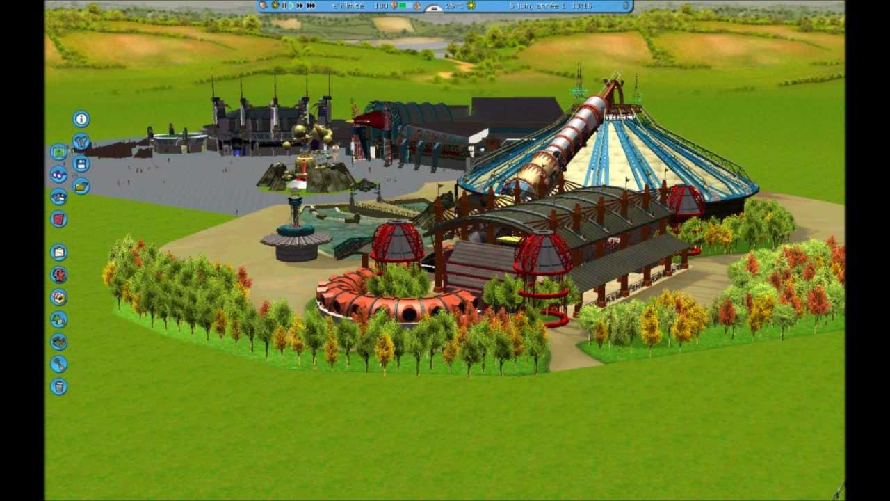 parc disneyland rct3