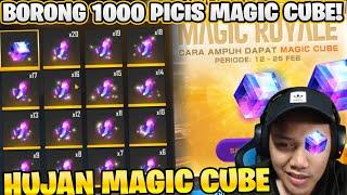 Download lagu BORONG 1000 PICIS MAGIC CUBE! EVENT MAGIC ROYALE AUTO BORONG! - Garena Free Fire