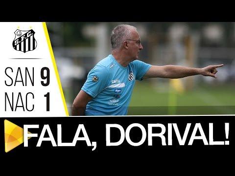 Dorival Júnior analisa vitória contra o Nacional-SP
