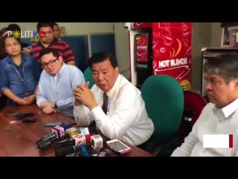 Bago ka magdeklara ng martial law, dapat may actual rebellion - Drilon
