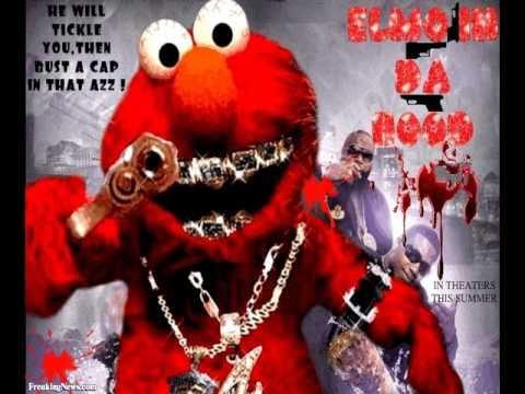 Elmo Rapping Eminem Rap God | Sesame Hood Street