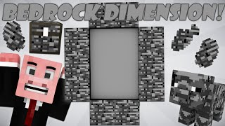 If a Bedrock Dimension was Added - Minecraft