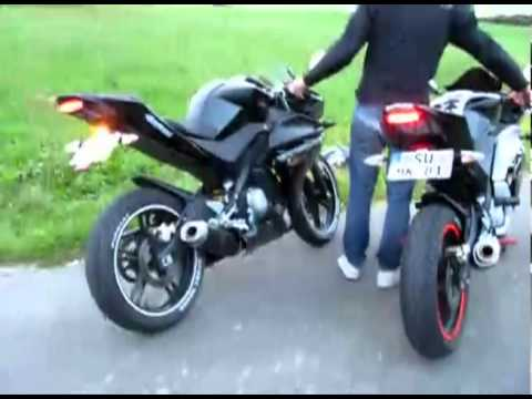 yzf r125 doublesoundcheck arrow youtube. Black Bedroom Furniture Sets. Home Design Ideas