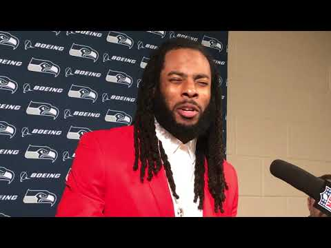 Richard Sherman on what Seahawks statement before game on anthem