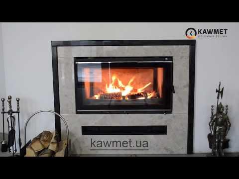 Каминная топка KAWMET W16 (18 kW). Відео 3