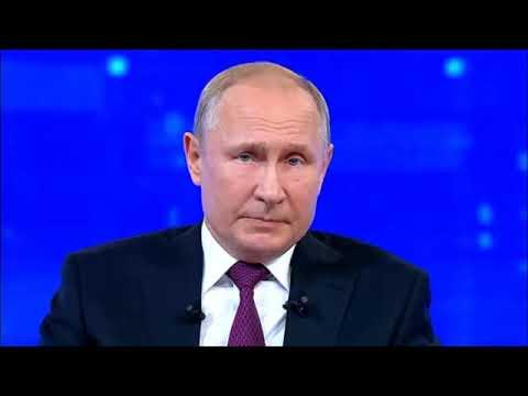 Путин НЕ ответил на вопрос об ипотеке в 6% для семей с детьми. Прямая линия 2019