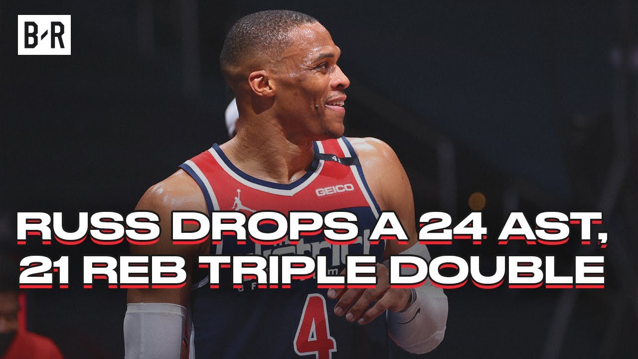 The numbers behind Russell Westbrook's triple-double records