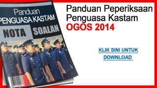 [FREE] Nota dan Soalan Penguasa Kastam Ogos 2014
