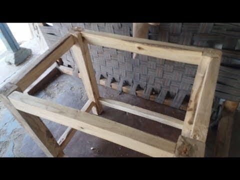 How to make wooden table at home    घर पर  लकड़ी की  टेविल कैसे बनाये