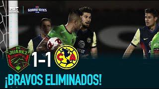 Juárez FC 1-1 América  Jornada 17   Guardianes 2020