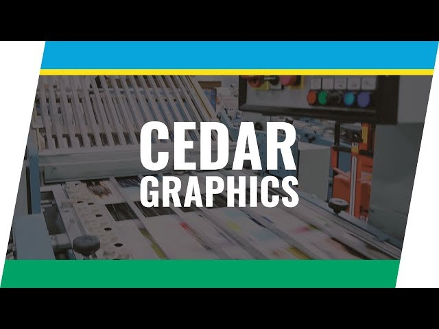 Client Spotlight Series: Cedar Graphics, Hiawatha, IA