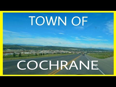 THE TOWN OF COCHRANE ALBERTA