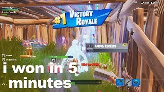 10 minutes and 31 seconds of Season 9 fortnite glitches
