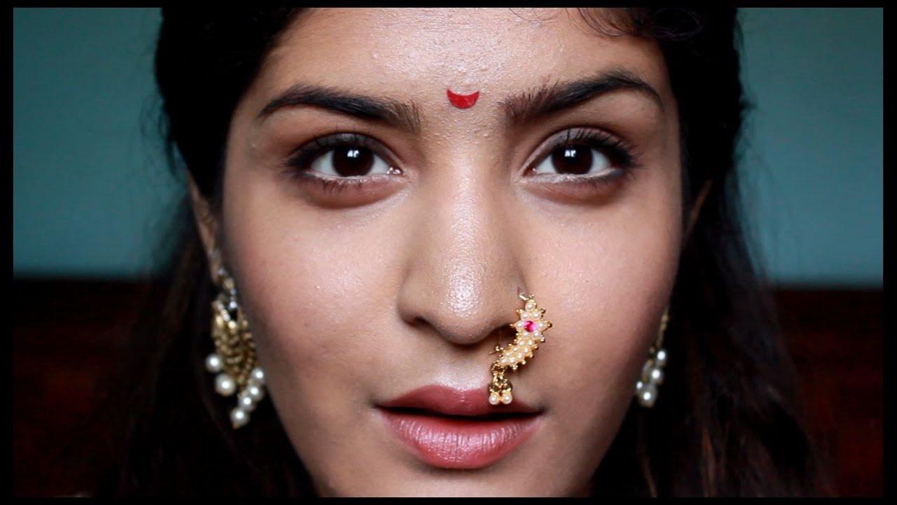 Indian Makeup Series | Maharashtrian Makeup + Bloopers - YouTube