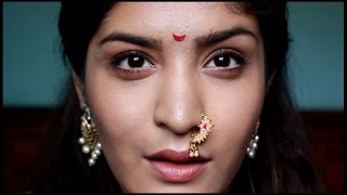 Indian Makeup Series | Maharashtrian Makeup + Bloopers
