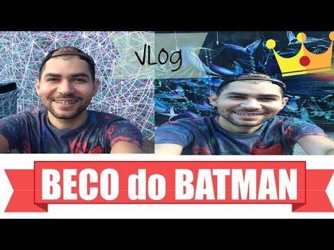 Tour: no BECO do BATMAN (vlog)