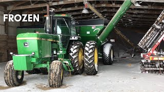 I Accidentally FROZE My Tractors... | Hauling More Corn