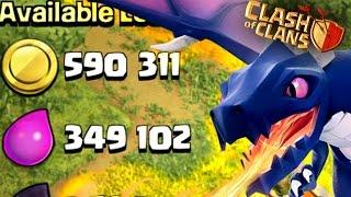Clash of Clans - Single Dragon vs X-Bow