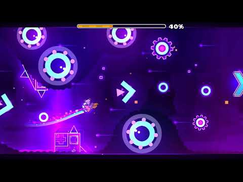 Geometry Dash Opthalmoscope (Weekly demon #13) and coin