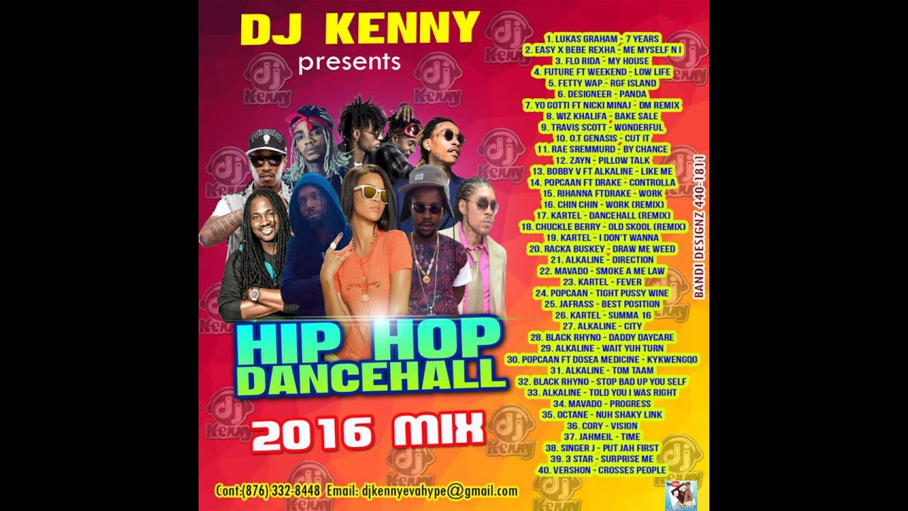 DJ KENNY HIP HOP DANCEHALL 2016 MIX [MIXCLOUD PREVIEW]
