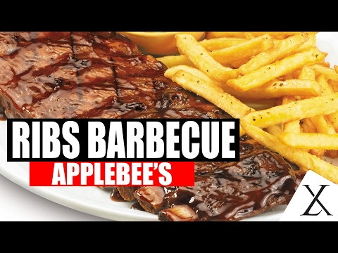 Costelinha Barbecue Ribs Applebee's