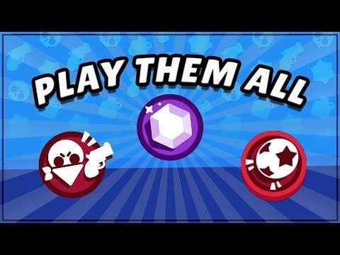 PLAYING WITH NEW PLAYERS   Heist, Brawl Ball, and Smash and Grab   Brawl Stars