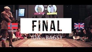 IDA (Norway) vs. BAGSY (UK) | FINAL | All Europe Waacking Festival