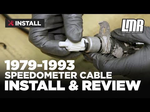 1979-1993 Mustang Speedometer Cable & Gear - Review & Install