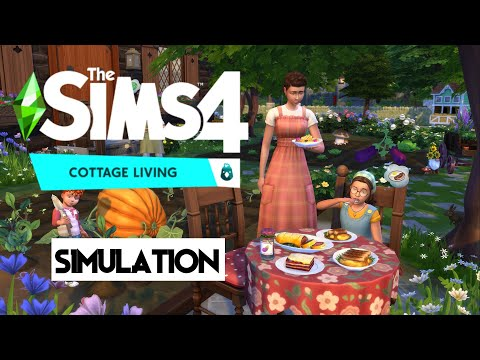 The Sims™ 4 Cottage Living Expansion Pack | PC Gameplay |